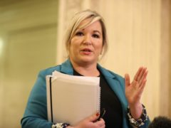 Deputy First Minster Michelle O'Neill confirmed a meeting was taking place (Liam McBurney/PA)