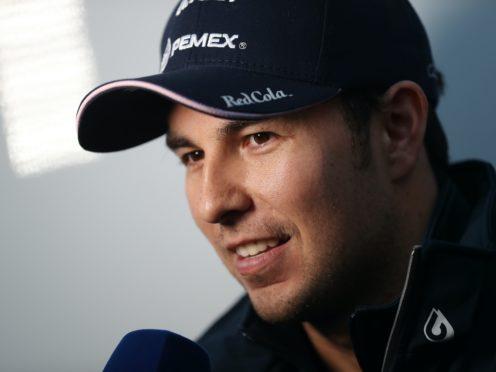 Sergio Perez will race for Red Bull next season (David Davies/PA)