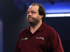 Jason Lowe produced the shock of the tournament so far with a win over Michael Smith (Kieran Cleeves/PA)