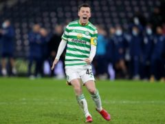 Celtic's Callum McGregor enjoyed another penalty shoot-out win (Andrew Milligan/PA)