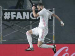 Karim Benzema was on target as Real Madrid beat Granada 2-0 (Bernat Armangue/AP)