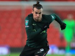 """Gareth Bale suffered a calf injury against Stoke and is out for a """"few weeks"""" (Mike Egerton/PA)"""