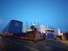 Goodison Park stands empty after Everton's Premier League game against Manchester City was postponed due to a coronavirus outbreak in the visitors' camp (Peter Byrne/PA)