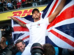 Lewis Hamilton has been awarded with a knighthood (PA Wire/PA Images)