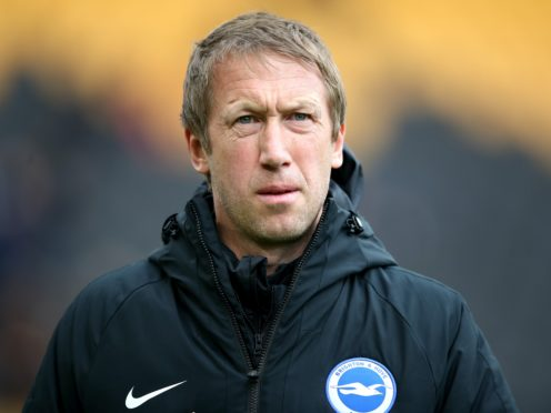 Brighton are struggling for points under Graham Potter (Nick Potts/PA)