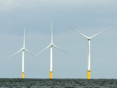 The leasing process for offshore wind us currently under way (Daniel Law/PA)