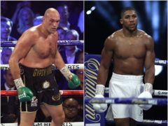 Tyson Fury and Anthony Joshua are set to clash twice in 2021 (PA)