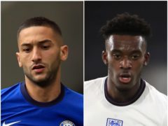Hakim Ziyech and Callum Hudson-Odoi should be back for Chelsea in a fortnight (Adam Davy/Mike Egerton/PA)