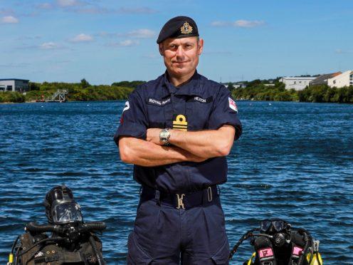 Lieutenant Commander Sean 'Central' Heaton (Crown Copyright/PA)