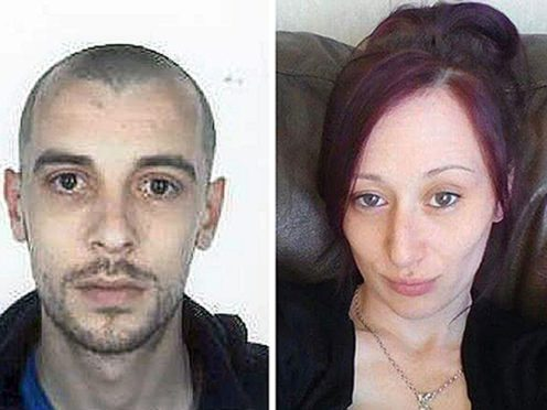 John Yuill and Lamara Bell died after their car crashed off the M9 motorway in 2015 (Police Scotland/PA)