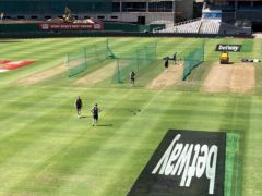 The net pitches which England claim were 'unacceptable' for batting (Rory Dollard/PA)