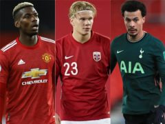 Could Paul Pogba, Erling Haaland and Dele Alli be on the move in January? (Phil Noble/Fredrikh Hagen/Mike Egerton/PA)