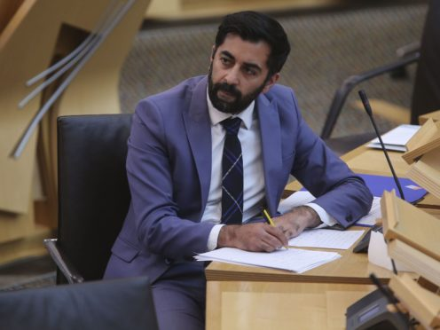 Justice Secretary Humza Yousaf has pledged to make further changes to the Scottish Government's controversial Hate Crime Bill (Fraser Bremner/Scottish Daily Mail/PA)