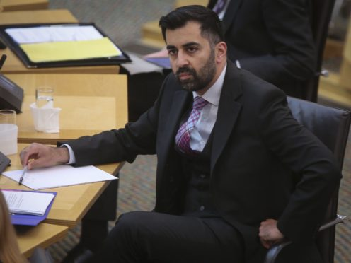 Justice Secretary Humza Yousaf was told further changes are needed to the Hate Crime Bill (Fraser Bremner/Daily Mail/PA)