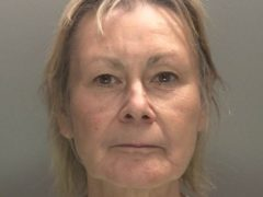 Jill Carvell has been jailed after drunkenly reversing into an off-duty firefighter, crushing his legs and ending his career (West Midlands Police/PA)