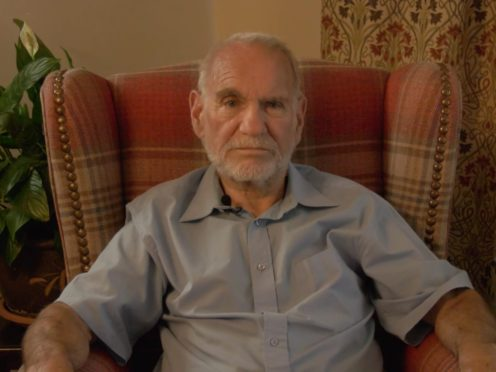 John Brooker, 75, died of bowel cancer at the family home in Sudbury, Suffolk in May 2020 (Cancer Research UK/PA)