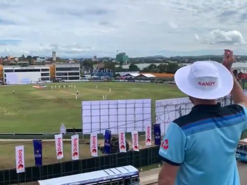 Rob Lewis finally sees England play cricket in Sri Lanka (Rob Lewis)