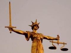 The Scales of Justice on top of the Old Bailey in central London (Chris Young/PA)