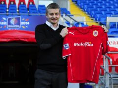 Ole Gunnar Solskjaer was appointed Cardiff boss on this day in 2014 (PA Wire)