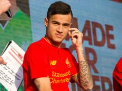 Philippe Coutinho joined Liverpool from Inter Milan in 2013 (Barrington Coombs/PA)