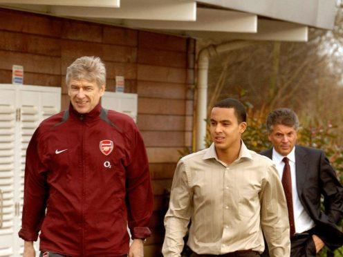 Theo Walcott played under Arsene Wenger during his whole time at Arsenal (John Stillwell/PA)