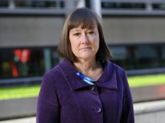 Shadow Welsh secretary Jo Stevens outside the Home Office in London after presenting a 14,000-strong petition and a letter to Amber Rudd, urging her to allow 19 year-old Bashir Naderi, who faces deportation to Afghanistan, to stay in the UK (Kirsty O'Connor/PA)