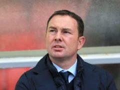 Morecambe manager Derek Adams (Nigel French/PA)