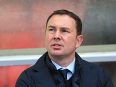 Derek Adams admitted to a charge of improper conduct (Nigel French/PA)