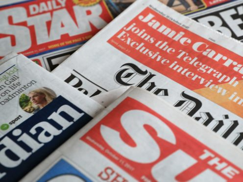 What the papers say – January 27 (PA)