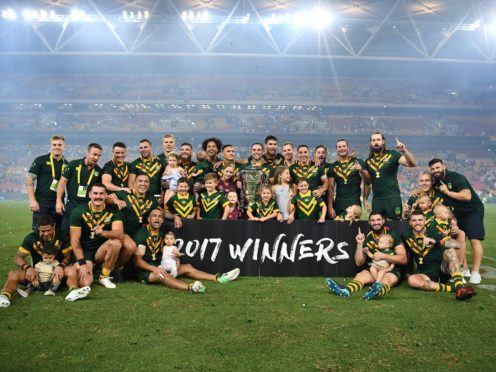 Organisers remain confident the World Cup will be played in front of capacity crowds (NRL handout/PA)
