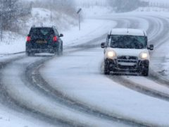 Motorists are facing difficult driving conditions (David Cheskin/PA)