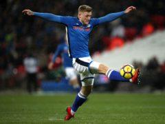 Stephen Humphrys left it late to earn Rochdale a point (Nick Potts/PA)