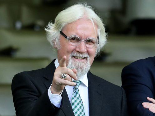 Sir Billy Connolly has received his first coronavirus jab (Jane Barlow/PA)