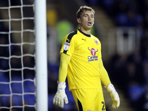 Sam Walker has left Reading on loan to sign for AFC Wimbledon (Andrew Matthews/PA)