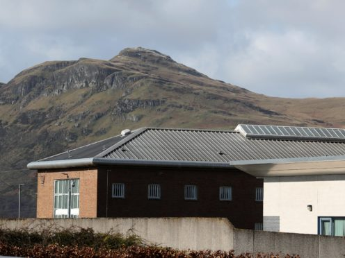 A man has died following an incident at HMP Glenochil (Abdrew Milligan/PA)