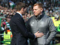 Rangers manager Steven Gerrard (left) says his side cannot wait to face Neil Lennon's Celtic (Andrew Milligan/PA)