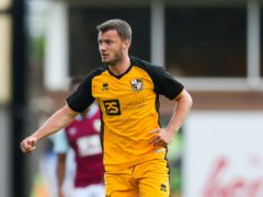 Port Vale's James Gibbons has been out since October after undergoing surgery on his hamstring (Barrington Coombs/PA)