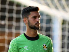 Cambridge lost goalkeeper Dimitar Mitov to injury (Joe Giddens/PA).