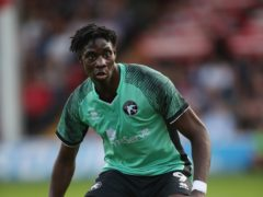 Elijah Adebayo scored twice as Walsall beat Port Vale (Nick Potts/PA)
