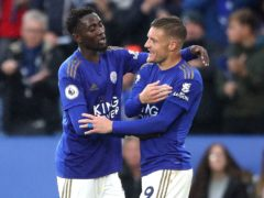 Leicester duo Jamie Vardy and Wilfred Ndidi are both set for short spells on the sidelines (Nick Potts/PA)