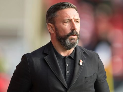 Aberdeen manager Derek McInnes is resigned to losing Scott Wright at the end of the season (Ian Rutherford/PA)