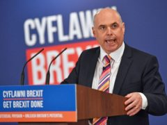Paul Davies has resigned as leader of the Welsh Conservatives (Jacob King/PA)