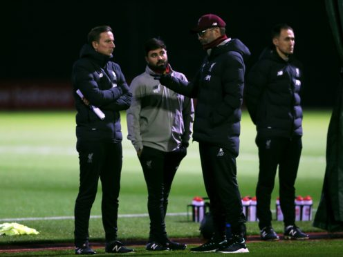 Liverpool manager Jurgen Klopp has plenty of work to do in training ahead of the FA Cup trip to Manchester United (Richard Sellers/PA)