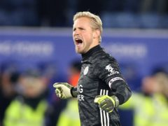 Leicester goalkeeper Kasper Schmeichel is set to make his 400th appearance for the club on Saturday (Nigel French/PA)