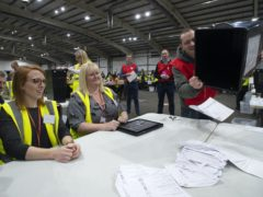 The election is due to go ahead in May (Lesley Martin/PA)