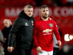 Ole Gunnar Solskjaer is bringing the best out of Luke Shaw (Martin Rickett/PA)