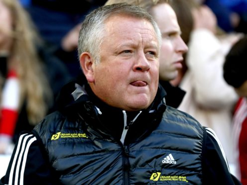 Chris Wilder insists there is no pressure on Sheffield United (Gareth Fuler/PA)