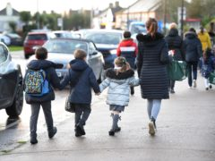 Parents will receive two weeks' notice ahead of any schools reopening (Nick Ansell/PA)