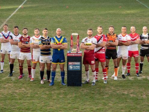 The 2021 Super League season has been pushed back by two weeks (Danny Lawson/PA)