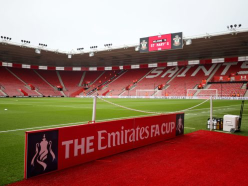 The Saints were set to play their FA Cup third-round tie on January 9 (Steven Paston/PA)